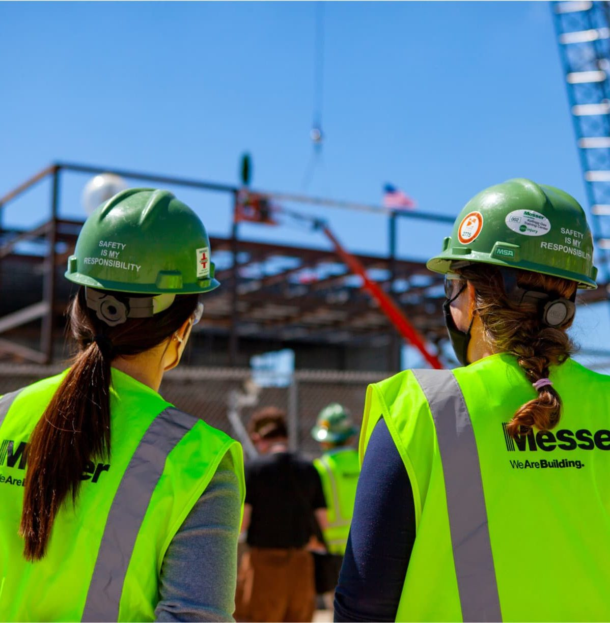 Messer project ICON topping out
