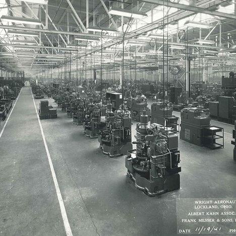 Wright Aeronautical Plant