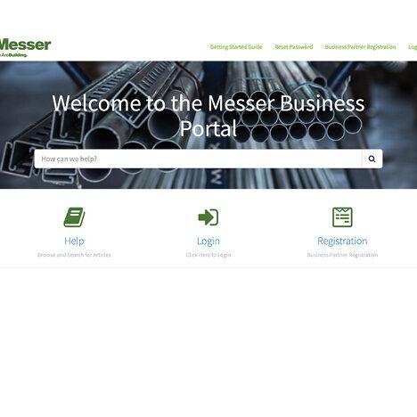 Messer Business Portal