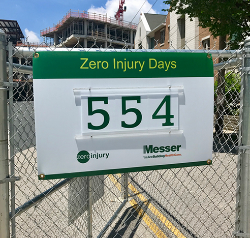 Zero Injury Days Counter