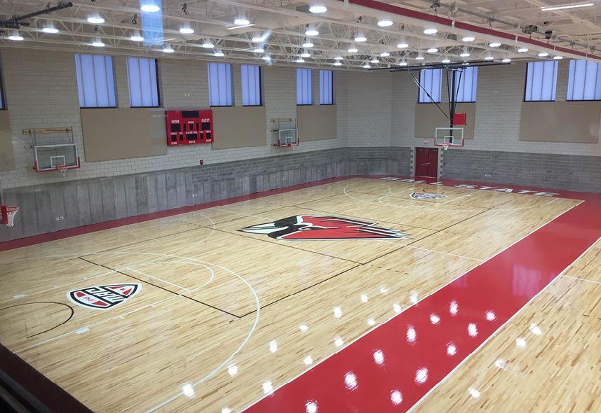 Ball State University Shondell Basketball/Volleyball