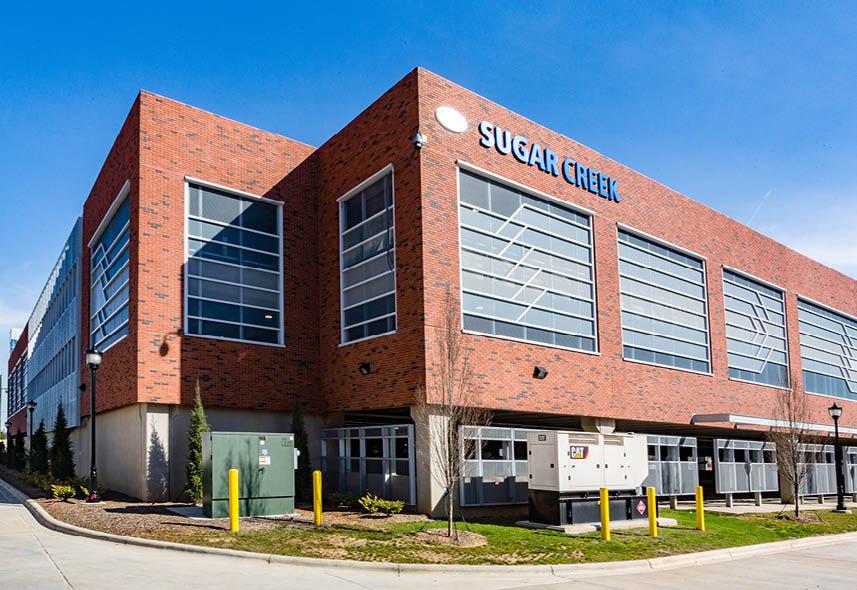 Charlotte Area Transit System Sugar Creek Parking Garage