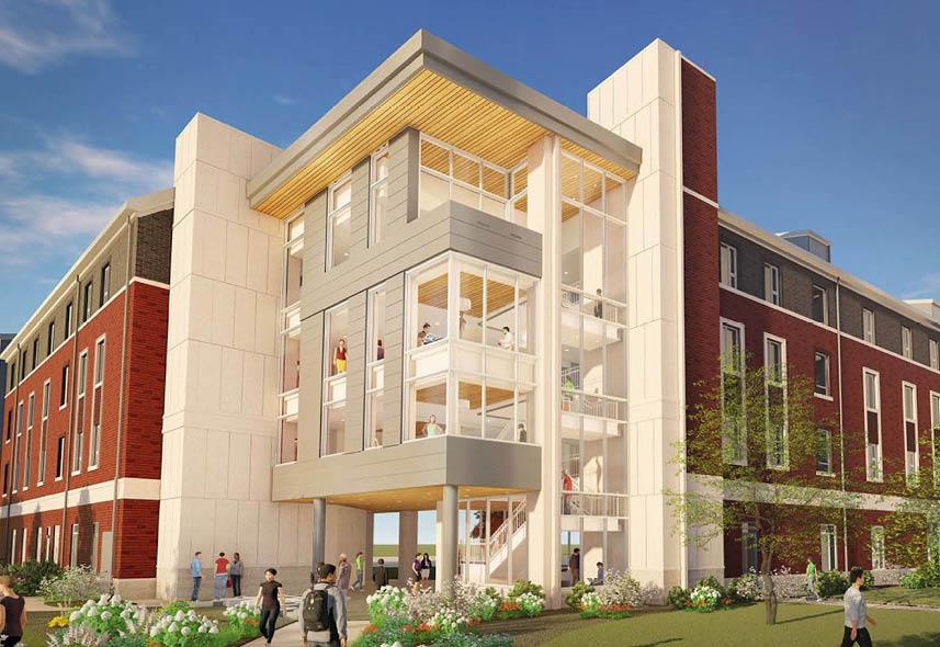 DePauw University Residence Hall