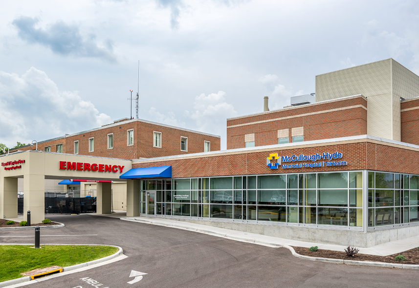 McCullough-Hyde Emergency Department and Surgery Renovation & Addition