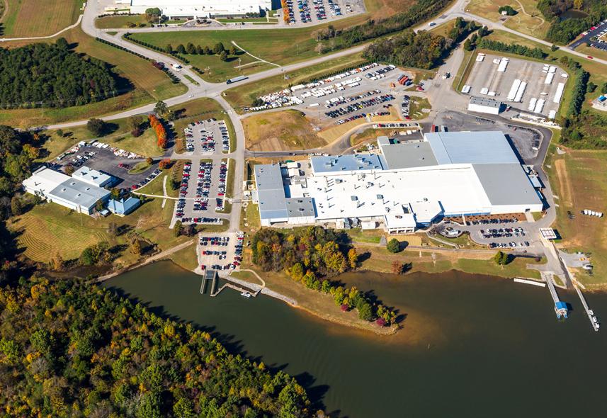 Yamaha Jet Boat Manufacturing USA Tennessee Watercraft, Inc. Expansion