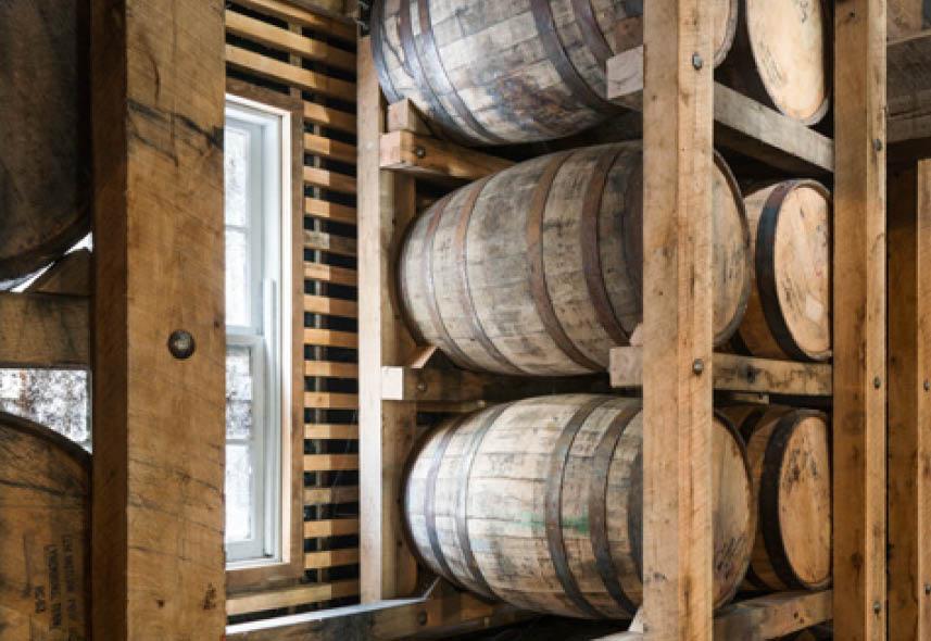 Jack Daniel's Distillery Barrel House 1-14