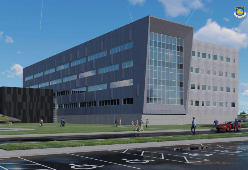 Wright Patterson Air Force Base Intelligence Production Complex rendering